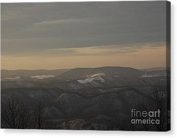 January Evening Canvas Print by Randy Bodkins