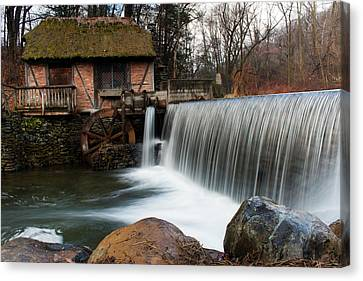 January Morning At Gomez Mill #2 Canvas Print by Jeff Severson