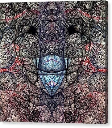 Janus Entanglement Canvas Print by Jack Dillhunt