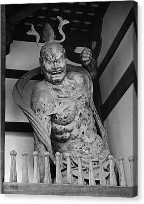 Japan: Nara: Guardian Canvas Print by Granger