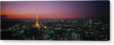 Japan, Tokyo Canvas Print by Panoramic Images