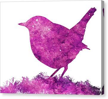 Japanese Robin Bird Canvas Print