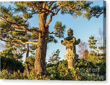 Ishidoro Canvas Print - Japanese Stone Lantern by Michael Wheatley