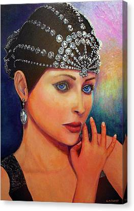 Canvas Print - Jasmine by Michael Durst