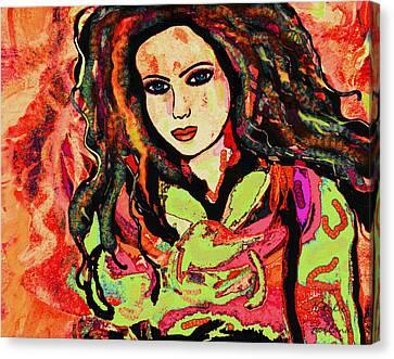Jasmine Canvas Print by Natalie Holland