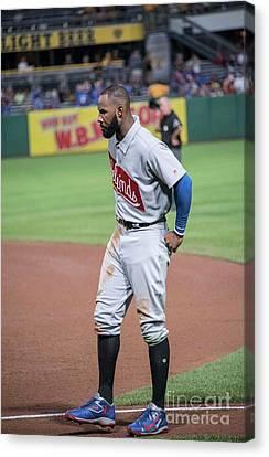 Negro Leagues Canvas Print - Jason Heyward by David Bearden