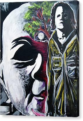 Jason P. Canvas Print by Ottoniel Lima