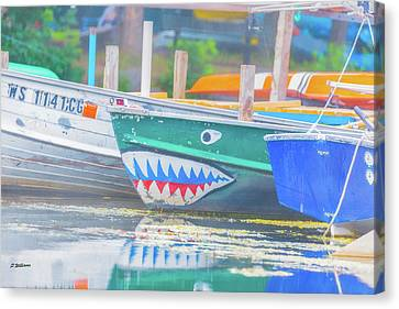 Jaws Canvas Print by Pamela Williams