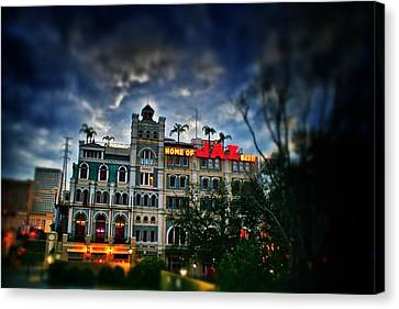 Canvas Print featuring the photograph Jax Brewery  by Jim Albritton