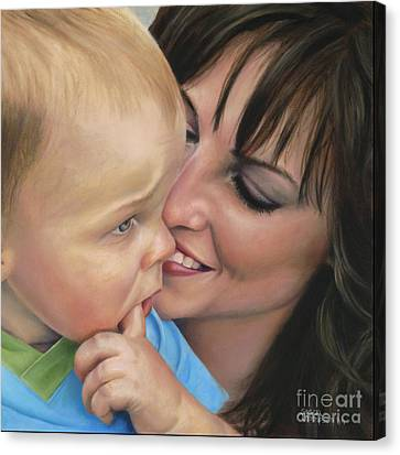 Jaxon's Love Canvas Print