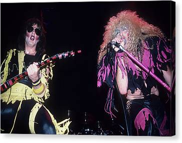 Jay Jay French And Dee Snider Canvas Print