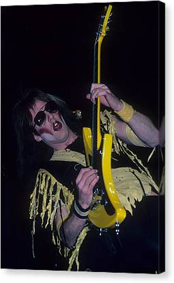 Jay Jay French Of Twisted Sister Canvas Print
