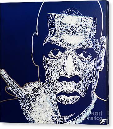 Jay Z Canvas Print - Jay-z by Visual Poet
