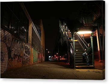 Jayhoc Waits Canvas Print by Jason Hochman