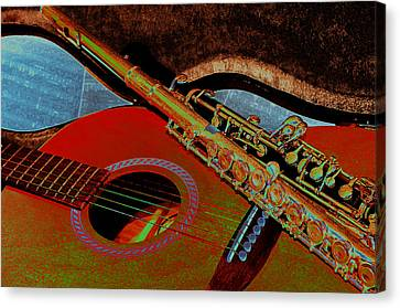 Jazz Band Canvas Print