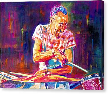 Jazz Beat Canvas Print by David Lloyd Glover