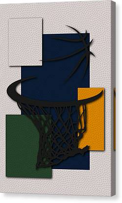 Jazz Hoop Canvas Print by Joe Hamilton