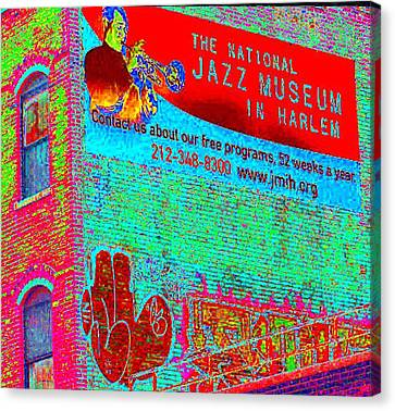 Jazz Museum Canvas Print by Steven Huszar