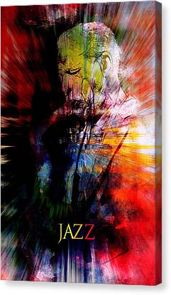 Jazz Music Canvas Print