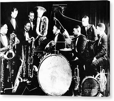 Drummer Canvas Print - Jazz Musicians, C1925 by Granger
