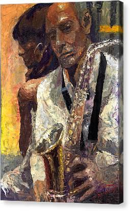 Jazz Muza  Canvas Print