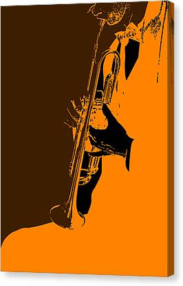 Jazz Canvas Print by Naxart Studio