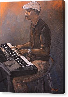 Jazz Canvas Print by Reb Frost