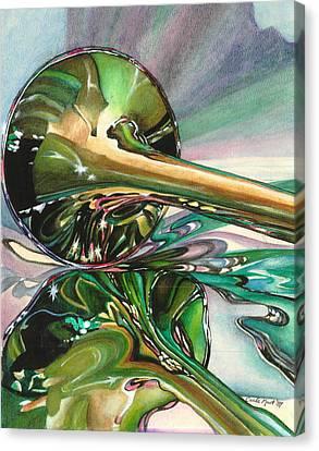Jazz Shine Canvas Print