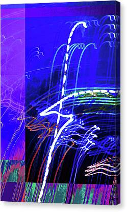 Jazz Canvas Print by Tj Evans
