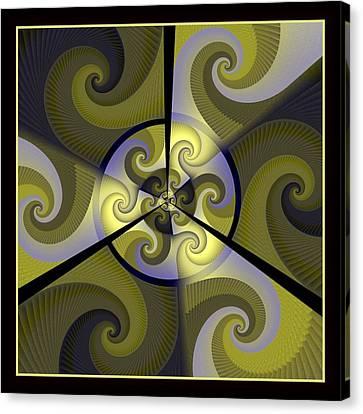 Jazz Transfusion Squared Canvas Print by David April