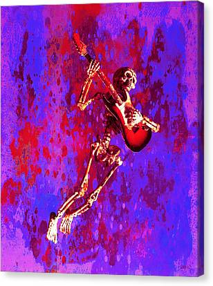 Jazzer Canvas Print by Jeff Gettis