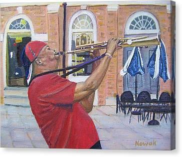 Jazzin It Up Canvas Print by Richard Nowak