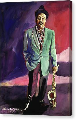 Jazzman Ben Webster Canvas Print