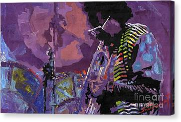Jazz.miles Davis.4. Canvas Print
