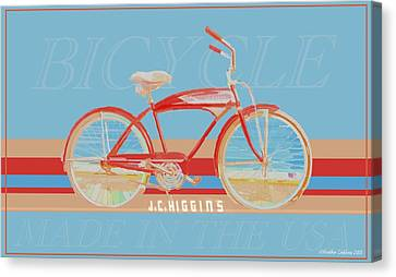 J.c. Higgins Bicycle Canvas Print