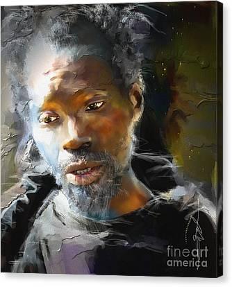Je N'oublierai Jamais  Canvas Print by Bob Salo
