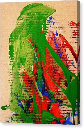 Jealous Cowboy Troubador Canvas Print by Bruce Combs - REACH BEYOND