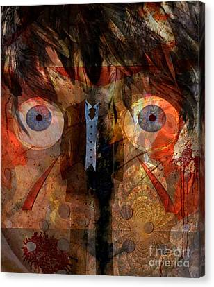 Goree Canvas Print - Jealous by Fania Simon
