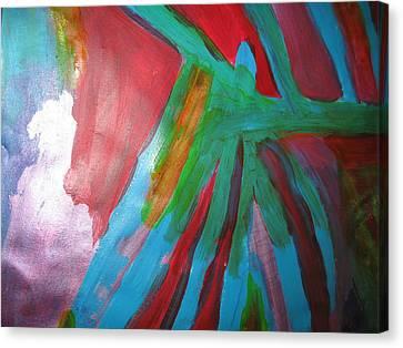 Jealousy Canvas Print by Paula Andrea Pyle