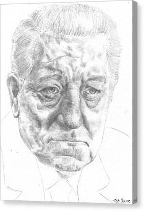 Jean Gabin Canvas Print