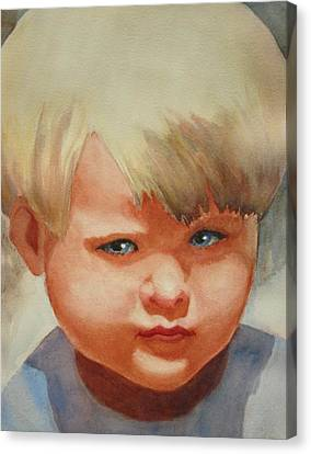 Jean Canvas Print by Marilyn Jacobson