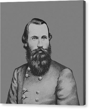Jeb Stuart -- Confederate General Canvas Print by War Is Hell Store