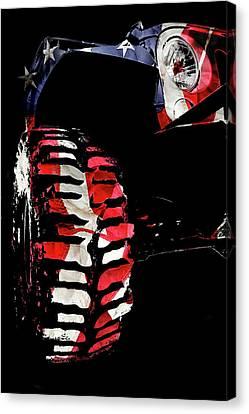 Jeep Jk Freedom Edition Canvas Print