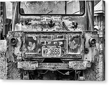 Jeep Strong Canvas Print by JC Findley