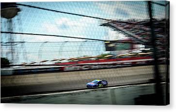 Jeff Gordon's Last Race At Mis Canvas Print