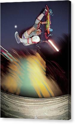 Jeff Phillips Boneless Over The Clown Canvas Print