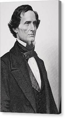 Jefferson Davis Canvas Print by Matthew Brady