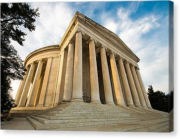 Jefferson Memorial Colonnade - 1 Canvas Print