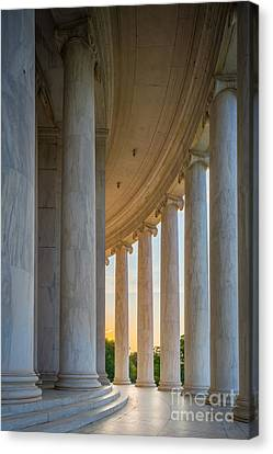 Jefferson Memorial Dawn Canvas Print