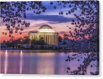 Jefferson Memorial Pre-dawn Canvas Print
